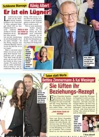 Titelbild der Ausgabe 6/2020 von Schlimme Blamage: König Albert: Er ist ein Lügner!. Zeitschriften als Abo oder epaper bei United Kiosk online kaufen.