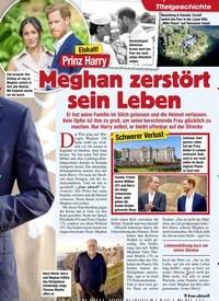 Titelbild der Ausgabe 6/2020 von Eiskalt!: Prinz Harry: Meghan zerstört sein Leben. Zeitschriften als Abo oder epaper bei United Kiosk online kaufen.
