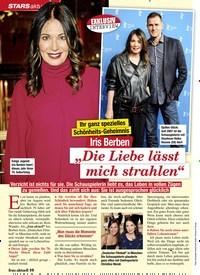 """Titelbild der Ausgabe 6/2020 von Iris Berben: """"Die Liebe lässtmich strahlen"""". Zeitschriften als Abo oder epaper bei United Kiosk online kaufen."""