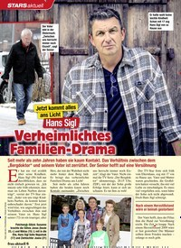 Titelbild der Ausgabe 7/2020 von Jetzt kommt alles ans Licht: Hans Sigl: Verheimlichtes Familien-Drama. Zeitschriften als Abo oder epaper bei United Kiosk online kaufen.