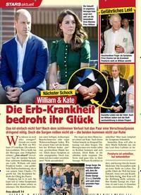 Titelbild der Ausgabe 7/2020 von Nächster Schock:William & Kate:Die Erb-Krankheit bedroht ihr Glück. Zeitschriften als Abo oder epaper bei United Kiosk online kaufen.