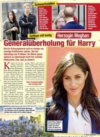 Titelbild der Ausgabe 9/2020 von Schluss mit lustig; Herzogin Meghan: Generalüberholung für Harry. Zeitschriften als Abo oder epaper bei United Kiosk online kaufen.