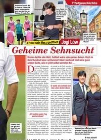 Titelbild der Ausgabe 9/2020 von Titelgeschichte: Er hat sein Herz geöffnet: Jogi Löw: Geheime Sehnsucht. Zeitschriften als Abo oder epaper bei United Kiosk online kaufen.