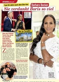 Titelbild der Ausgabe 11/2020 von STARS aktuell: Fast 20 Jahre nach dem Ehe-Aus: Barbara Becker: Sie verdankt Boris so viel. Zeitschriften als Abo oder epaper bei United Kiosk online kaufen.