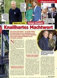 Titelbild der Ausgabe 12/2020 von Beben im Palast: Königin Elizabeth: Knallhartes Machtwort. Zeitschriften als Abo oder epaper bei United Kiosk online kaufen.