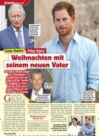 Titelbild der Ausgabe 43/2020 von STARS: Armer Charles! Prinz Harry: Weihnachten mit seinem neuen Vater. Zeitschriften als Abo oder epaper bei United Kiosk online kaufen.