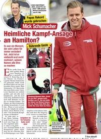 Titelbild der Ausgabe 43/2020 von Papas Rekord wurde gebrochen: Mick Schumacher: Heimliche Kampf-Ansage an Hamilton?. Zeitschriften als Abo oder epaper bei United Kiosk online kaufen.