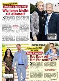 Titelbild der Ausgabe 46/2020 von Neuanfang in Sicht: Christian & Bettina Wulff: Wie lange bleibt sie diesmal?. Zeitschriften als Abo oder epaper bei United Kiosk online kaufen.