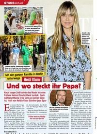 Titelbild der Ausgabe 46/2020 von Mit der ganzen Familie in Berlin unter wegs: Heidi Klum: Und wo steckt ihr Papa?. Zeitschriften als Abo oder epaper bei United Kiosk online kaufen.