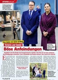Titelbild der Ausgabe 52/2020 von STARS: Das haben sie nicht verdient: Victoria und Daniel: Böse Anfeindungen. Zeitschriften als Abo oder epaper bei United Kiosk online kaufen.
