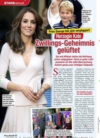 Titelbild der Ausgabe 52/2020 von STARS: Prinz George hat sich verplappert: Herzogin Kate: Zwillings-Geheimnis gelüftet. Zeitschriften als Abo oder epaper bei United Kiosk online kaufen.