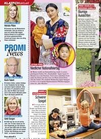 Titelbild der Ausgabe 1/2021 von KLATSCH: PROMI News. Zeitschriften als Abo oder epaper bei United Kiosk online kaufen.