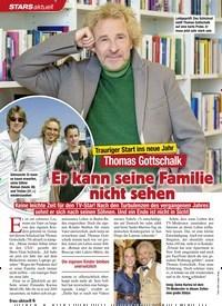 Titelbild der Ausgabe 1/2021 von STARS: Thomas Gottschalk: Er kann seine Familie nicht sehen. Zeitschriften als Abo oder epaper bei United Kiosk online kaufen.