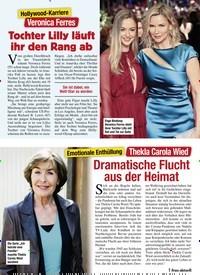 Titelbild der Ausgabe 1/2021 von Thekla Carola Wied: Dramatische Flucht aus der Heimat. Zeitschriften als Abo oder epaper bei United Kiosk online kaufen.