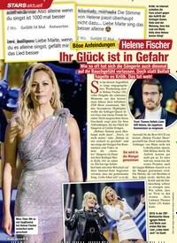 Titelbild der Ausgabe 2/2021 von STARS: Böse Anfeindungen: Helene Fischer: Ihr Glück ist in Gefahr. Zeitschriften als Abo oder epaper bei United Kiosk online kaufen.