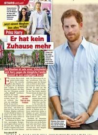 Titelbild der Ausgabe 2/2021 von STARS: Jetzt nimmt Meghan ihm alles: Prinz Harry: Er hat kein Zuhause mehr. Zeitschriften als Abo oder epaper bei United Kiosk online kaufen.