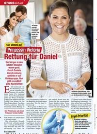 Titelbild der Ausgabe 7/2021 von STARS aktuell: Sie atmet auf: Prinzessin Victoria: Rettung für Daniel. Zeitschriften als Abo oder epaper bei United Kiosk online kaufen.