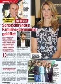 Titelbild der Ausgabe 7/2021 von STARS aktuell: Ein Bekannter packt aus: Steffi Graf: Schockierendes Familien-Geheimnis gelüftet. Zeitschriften als Abo oder epaper bei United Kiosk online kaufen.