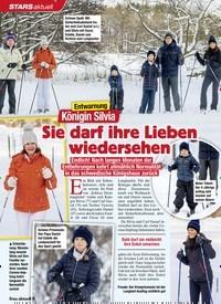 Titelbild der Ausgabe 8/2021 von Entwarnung: Königin Silvia: Sie darf ihre Lieben wiedersehen. Zeitschriften als Abo oder epaper bei United Kiosk online kaufen.