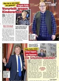 Titelbild der Ausgabe 8/2021 von Vater-Sohn-Zwist: Ernst August von Hannover: Die Situation eskaliert. Zeitschriften als Abo oder epaper bei United Kiosk online kaufen.