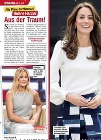 Titelbild der Ausgabe 8/2021 von Liebes-Auszeit mit süßen Folgen: Herzogin Kate: Endlich das 4. Baby!. Zeitschriften als Abo oder epaper bei United Kiosk online kaufen.