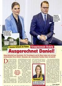 Titelbild der Ausgabe 12/2021 von Corona-Schock im Palast: Kronprinzessin Victoria: Ausgerechnet Daniel!. Zeitschriften als Abo oder epaper bei United Kiosk online kaufen.