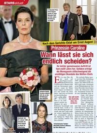 Titelbild der Ausgabe 14/2021 von Nach dem Gerichts-Eklat um Ernst August: Prinzessin Caroline: Wann lässt sie sich endlich scheiden?. Zeitschriften als Abo oder epaper bei United Kiosk online kaufen.