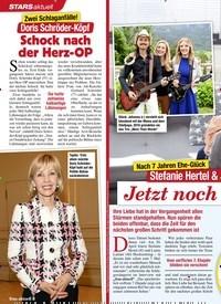 Titelbild der Ausgabe 14/2021 von Nach 7 Jahren Ehe-Glück: Stefanie Hertel & ihr Lanny: Jetzt noch ein Baby!. Zeitschriften als Abo oder epaper bei United Kiosk online kaufen.