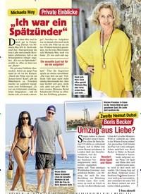 Titelbild der Ausgabe 15/2021 von Umzug aus Liebe?. Zeitschriften als Abo oder epaper bei United Kiosk online kaufen.