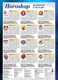 Titelbild der Ausgabe 15/2021 von Horoskop. Zeitschriften als Abo oder epaper bei United Kiosk online kaufen.