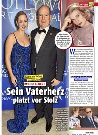 Titelbild der Ausgabe 9/2020 von AKTUELL: Fürst ALBERT: Sein Vaterherz platzt vor Stolz. Zeitschriften als Abo oder epaper bei United Kiosk online kaufen.