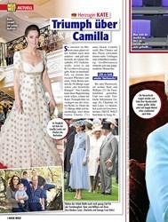 Titelbild der Ausgabe 9/2020 von Herzogin KATE: Triumph über Camilla. Zeitschriften als Abo oder epaper bei United Kiosk online kaufen.