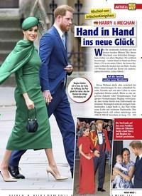 Titelbild der Ausgabe 13/2020 von Abschied vom britischenKönigshaus: HARRY & MEGHAN: Hand in Hand ins neue Glück. Zeitschriften als Abo oder epaper bei United Kiosk online kaufen.