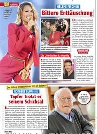 Titelbild der Ausgabe 13/2020 von HELENE FISCHER: Bittere Enttäuschung. Zeitschriften als Abo oder epaper bei United Kiosk online kaufen.