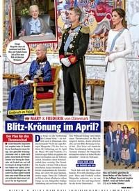 Titelbild der Ausgabe 13/2020 von Umbruch im Palast: MARY & FREDERIK von Dänemark Blitz-Krönung im April?. Zeitschriften als Abo oder epaper bei United Kiosk online kaufen.
