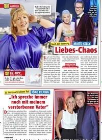 Titelbild der Ausgabe 7/2021 von Nach der Trennung: MAITE KELLY: Liebes-Chaos. Zeitschriften als Abo oder epaper bei United Kiosk online kaufen.