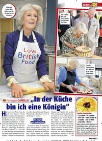 """Titelbild der Ausgabe 9/2021 von AKTUELL: Herzogin CAMILLA: """"In der Küche bin ich eine Königin"""". Zeitschriften als Abo oder epaper bei United Kiosk online kaufen."""