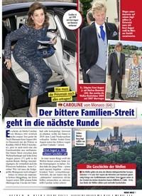 Titelbild der Ausgabe 9/2021 von CAROLINE von Monaco (64): Der bittere Familien-Streit geht in die nächste Runde. Zeitschriften als Abo oder epaper bei United Kiosk online kaufen.