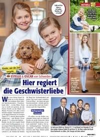Titelbild der Ausgabe 10/2021 von AKTUELL: Kinder, wie die Zeit vergeht… ESTELLE & OSCAR von Schweden: Hier regiert die Geschwisterliebe. Zeitschriften als Abo oder epaper bei United Kiosk online kaufen.