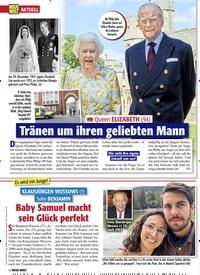 Titelbild der Ausgabe 10/2021 von Bayerns Ministerpräsident MARKUS SÖDER & seine KARIN: So tickt das Traumpaar privat. Zeitschriften als Abo oder epaper bei United Kiosk online kaufen.