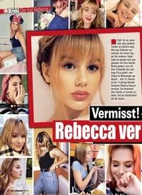 Titelbild der Ausgabe 3/2019 von Der Fall Rebecca: Vermisst! Rebecca ver zweifelt gesucht!. Zeitschriften als Abo oder epaper bei United Kiosk online kaufen.