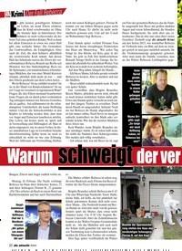 Titelbild der Ausgabe 3/2019 von Der Fall Rebecca: Warum schweigt der ver dächtige Schwager?. Zeitschriften als Abo oder epaper bei United Kiosk online kaufen.