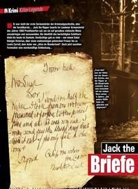 Titelbild der Ausgabe 4/2019 von Jack theRipper:Briefe aus der Hölle!. Zeitschriften als Abo oder epaper bei United Kiosk online kaufen.