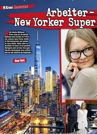 Titelbild der Ausgabe 4/2019 von Arbeiter- Tochter erleichterte New Yorker Super reiche um ein Vermögen!. Zeitschriften als Abo oder epaper bei United Kiosk online kaufen.