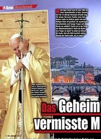 Titelbild der Ausgabe 6/2020 von Das Geheimnis um das vermisste Mädchen im Vatikan. Zeitschriften als Abo oder epaper bei United Kiosk online kaufen.