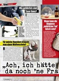 Titelbild der Ausgabe 6/2020 von Krimi Verhör. Zeitschriften als Abo oder epaper bei United Kiosk online kaufen.