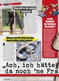 """Titelbild der Ausgabe 7/2020 von Verhör: """"Ach, ich hätte da noch 'ne Frage…"""". Zeitschriften als Abo oder epaper bei United Kiosk online kaufen."""