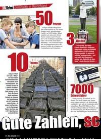 Titelbild der Ausgabe 7/2020 von Kriminalität in Deutschland: Gute Zahlen, sc hlechte Zahlen. Zeitschriften als Abo oder epaper bei United Kiosk online kaufen.