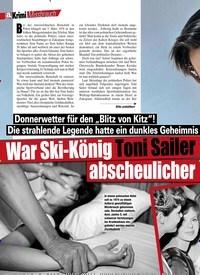 Titelbild der Ausgabe 10/2020 von War Ski-König Toni Sailer ein abscheulicher Vergewaltiger?. Zeitschriften als Abo oder epaper bei United Kiosk online kaufen.
