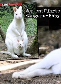 Titelbild der Ausgabe 11/2020 von Beweis-Fotos: Wer entführte dieses süße Känguru-Baby…?. Zeitschriften als Abo oder epaper bei United Kiosk online kaufen.